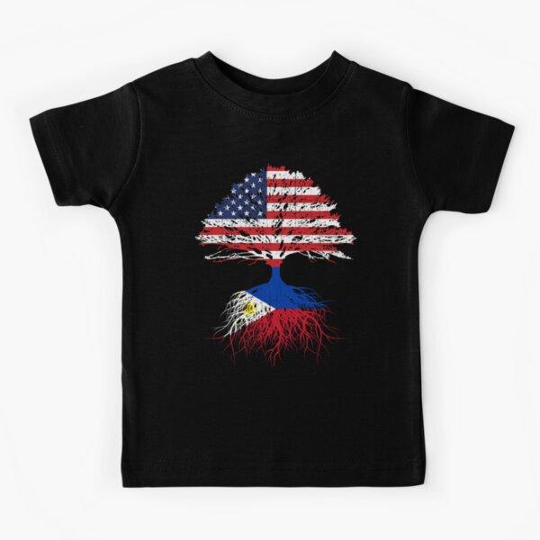 American Armenia Flag Motocross Kids Boys Girls Crewneck Short Sleeve Shirt T-Shirt for Toddlers