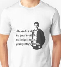 "Cory Monteith ""He didn't die"" Unisex T-Shirt"