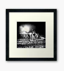 The Horse That Suffered Framed Print