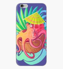 Octopus on the Beach iPhone Case