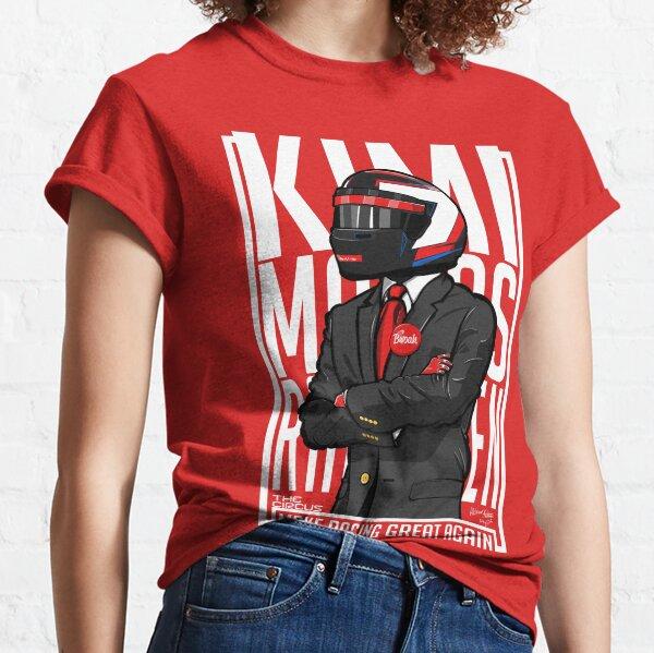 Red, White & Bwoah: Kimi Raikkonen for President Classic T-Shirt