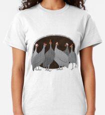 Helmeted Guineafowl Classic T-Shirt