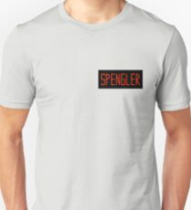 Egon Spengler Name Tag Unisex T-Shirt