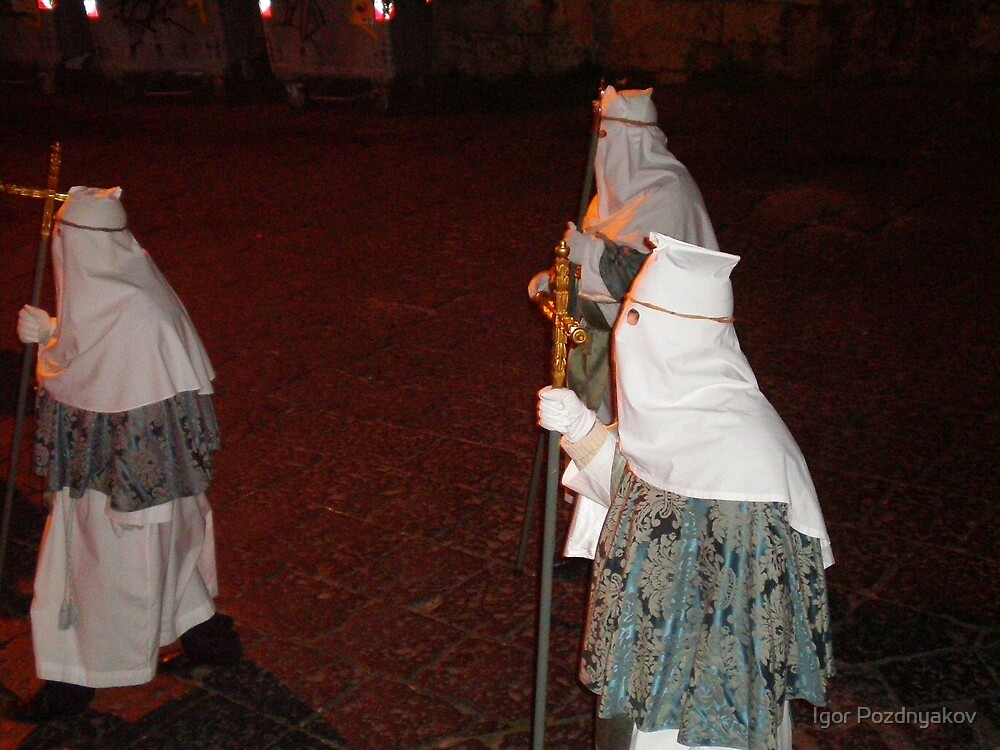 Enna, Sicily. Easter Procession VI 2006 by Igor Pozdnyakov
