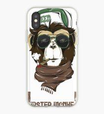 HIPSTER MONKEY design  iPhone Case