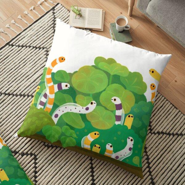 Garden eel Floor Pillow