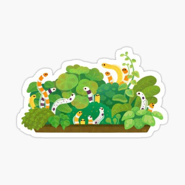 Garden eel Sticker