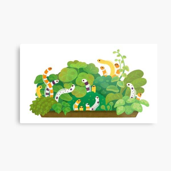 Garden eel Metal Print