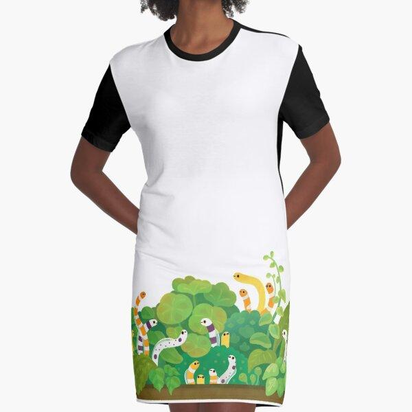 Gartenaal T-Shirt Kleid