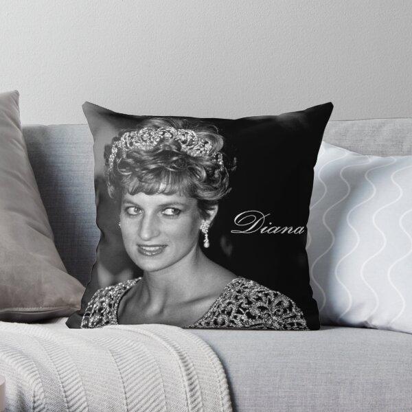 Stunning! HRH Diana Princess of Wales Throw Pillow