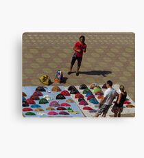 Fans from Seville Canvas Print