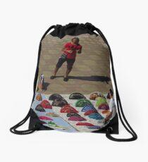 Fans from Seville Drawstring Bag