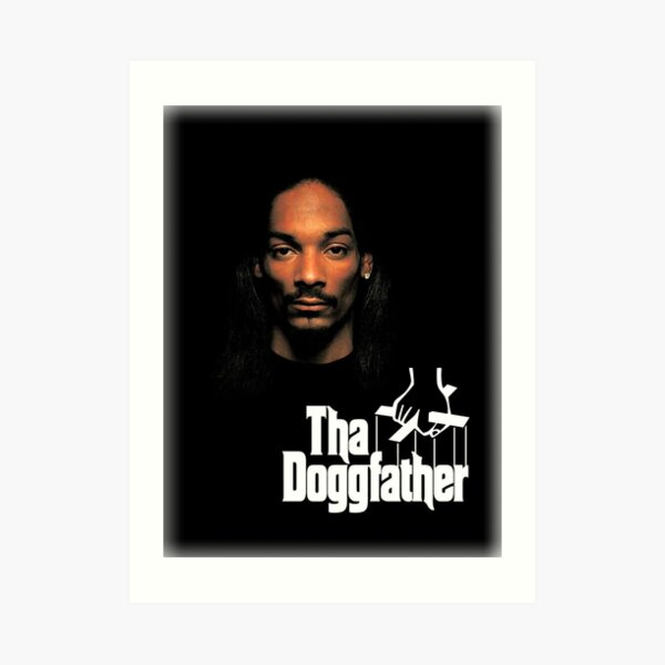 Snoop Dogg - Tha Doggfather Art Print