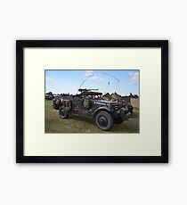 Military vehicle Framed Print