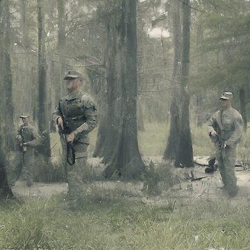 256 Infantry Brigade Combat Team- Louisiana National Guard by FatCrayon