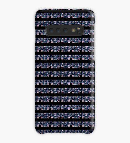 Pretty Weird Logo  Case/Skin for Samsung Galaxy