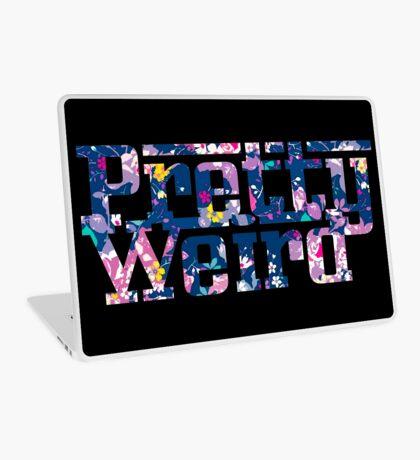 Pretty Weird Logo  Laptop Skin
