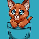 Pocket Cute Caracal Kitten by TechraNova
