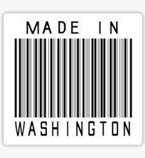 Made in Washington Sticker