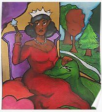 The Empress: Fantasy Tarot Poster