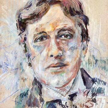 Oscar Wilde Signature Portrait by karlfrey