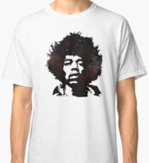 Jimi Hendrix, Purple Haze, Galaxy Classic T-Shirt