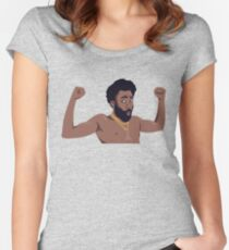 This is America - Childish Gambino Women's Fitted Scoop T-Shirt