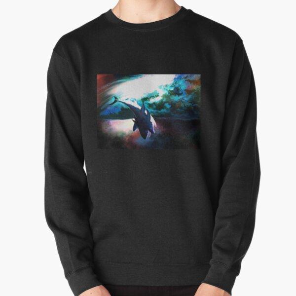 Death Of the Three Headed Shark Pullover Sweatshirt