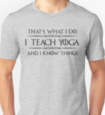 Gift Ideas for Yoga Teacher - Gifts for Yoga Teachers and Instructors Unisex T-Shirt
