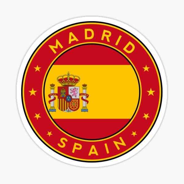 Madrid Pegatina