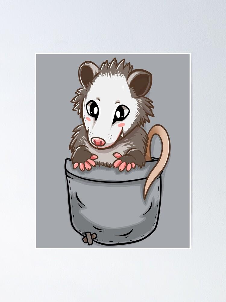 Pocket Cute Opossum