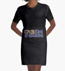 S7R3NGTH IN NUMBERS Graphic T-Shirt Dress