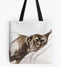 """""""Dog tails"""" by Maxime Xavier Tote Bag"""