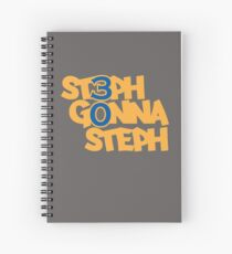 #stephgonnasteph Spiral Notebook