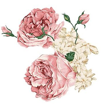 Rambling Rose Flowers by titanb00ty