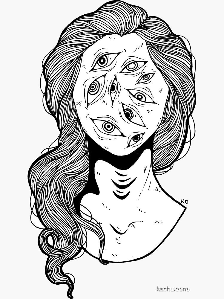 eye know by kachweena