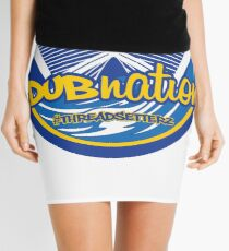 DubNation Splash Logo Mini Skirt