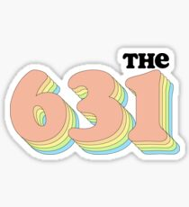 The 631 Sticker Sticker