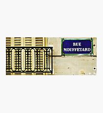 Rue Mouffetard Photographic Print
