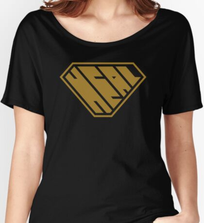 Heal SuperEmpowered (Gold) Women's Relaxed Fit T-Shirt
