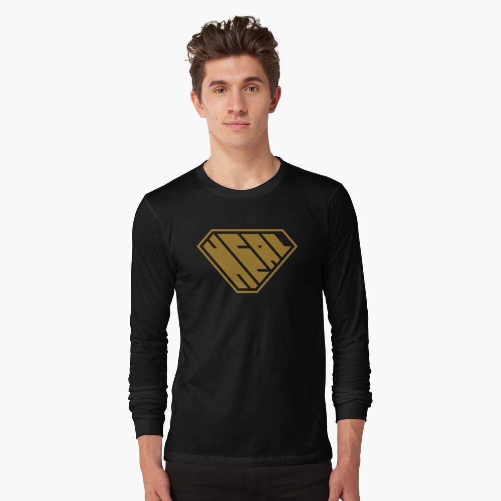 Heal SuperEmpowered (Gold) Long Sleeve T-Shirt
