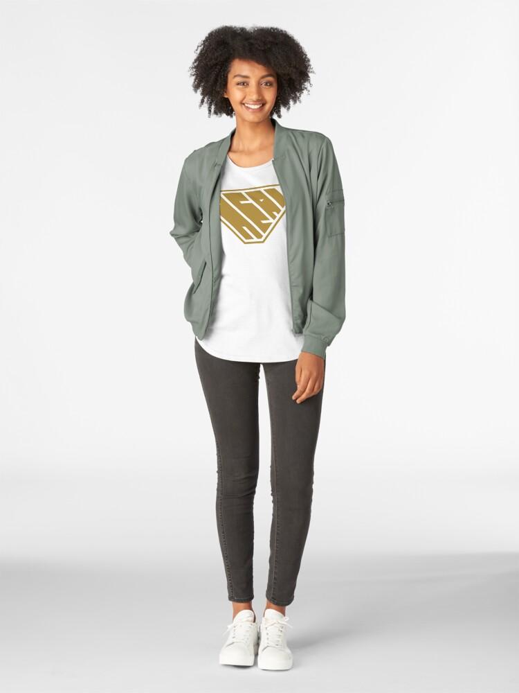 Alternate view of Heal SuperEmpowered (Gold) Premium Scoop T-Shirt