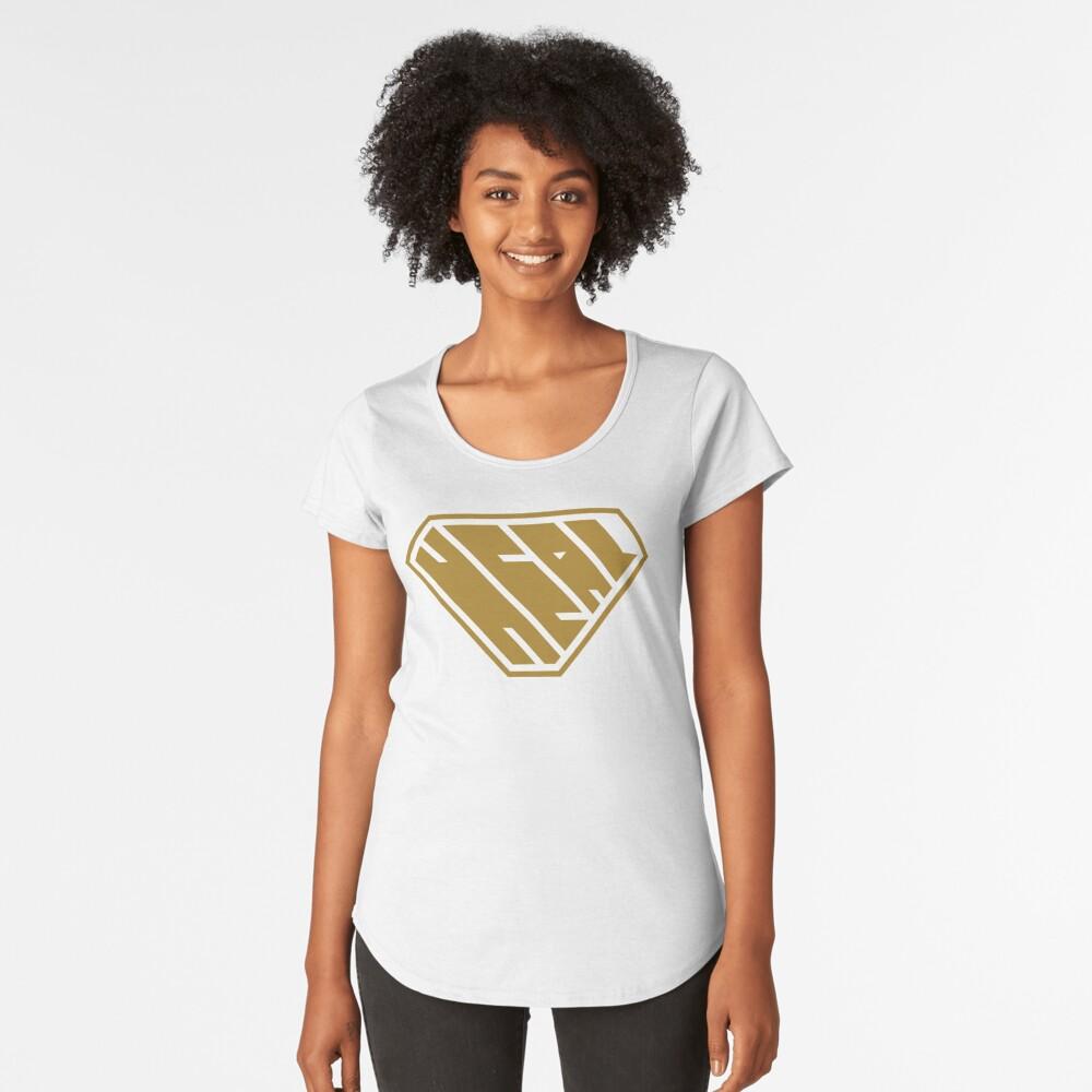 Heal SuperEmpowered (Gold) Premium Scoop T-Shirt