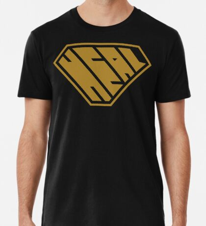 Heal SuperEmpowered (Gold) Premium T-Shirt