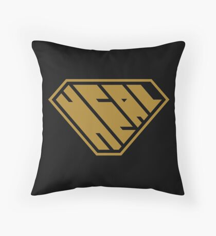 Heal SuperEmpowered (Gold) Floor Pillow