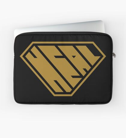 Heal SuperEmpowered (Gold) Laptop Sleeve