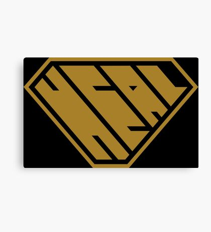 Heal SuperEmpowered (Gold) Canvas Print