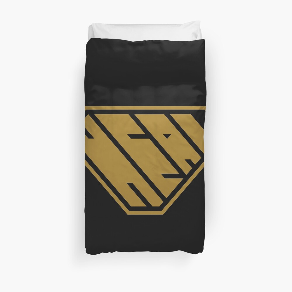 Heal SuperEmpowered (Gold) Duvet Cover