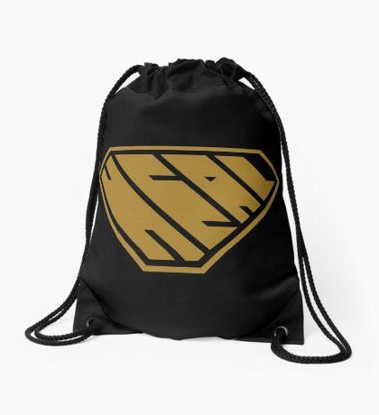 Heal SuperEmpowered (Gold) Drawstring Bag