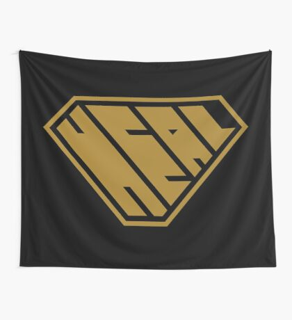 Heal SuperEmpowered (Gold) Wall Tapestry